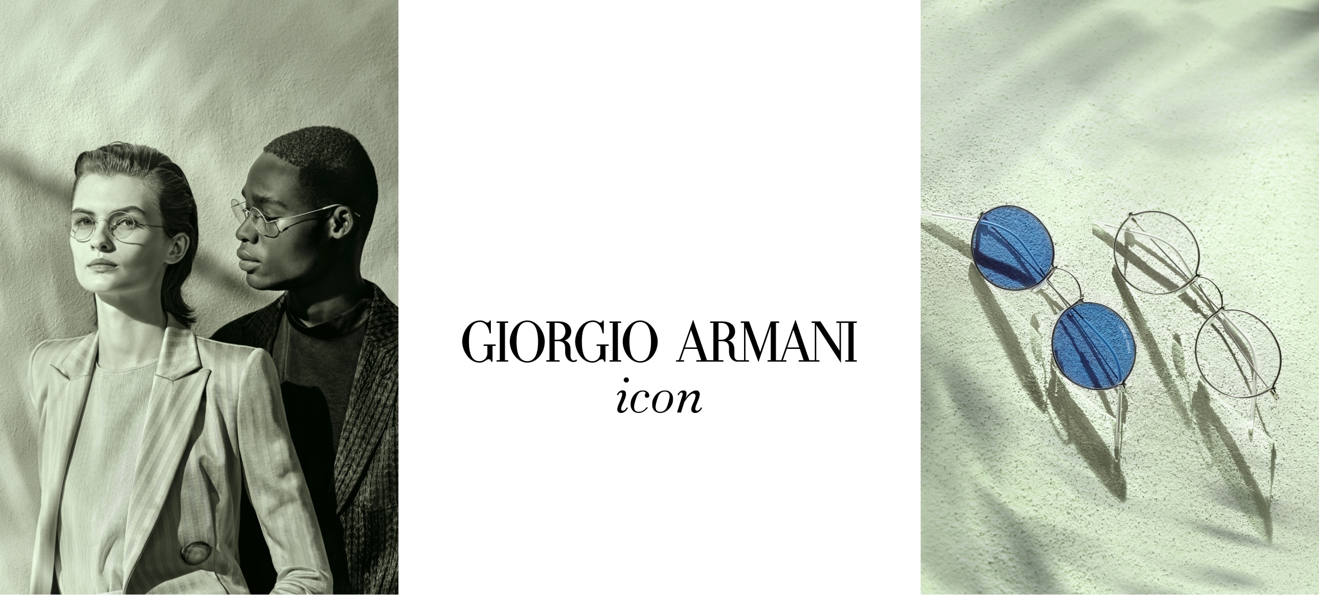 Armani hero banner