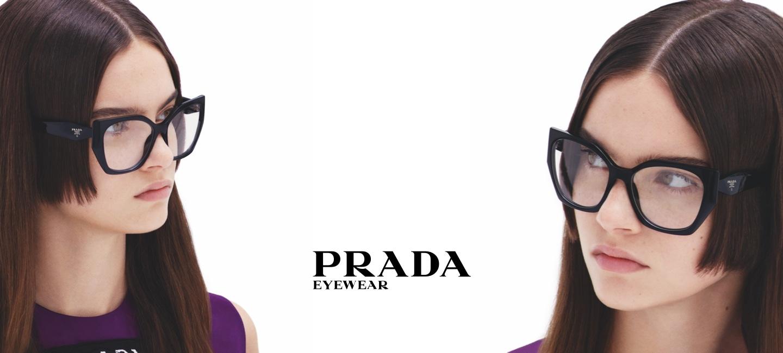 Prada Eyewear  hero banner